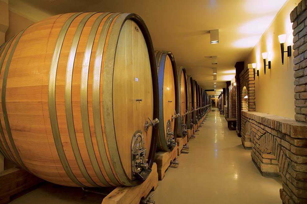 vinarija aleksandrović odležavanje vina u bačvama