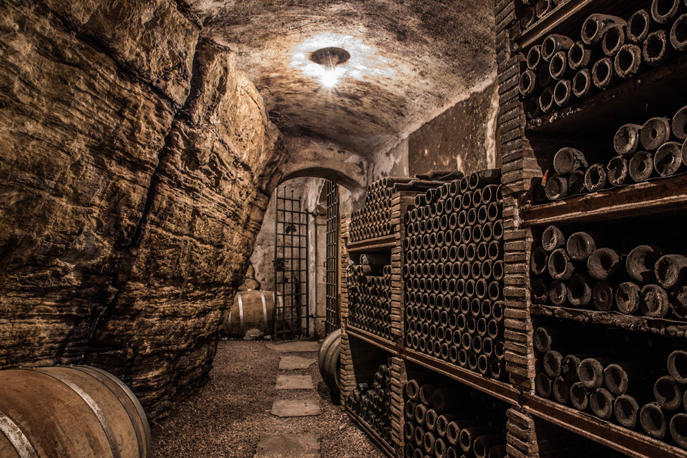 odležavanje vina jakončič podrum