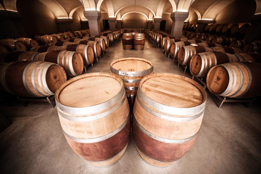 pico maccario odležavanje vina u buradima