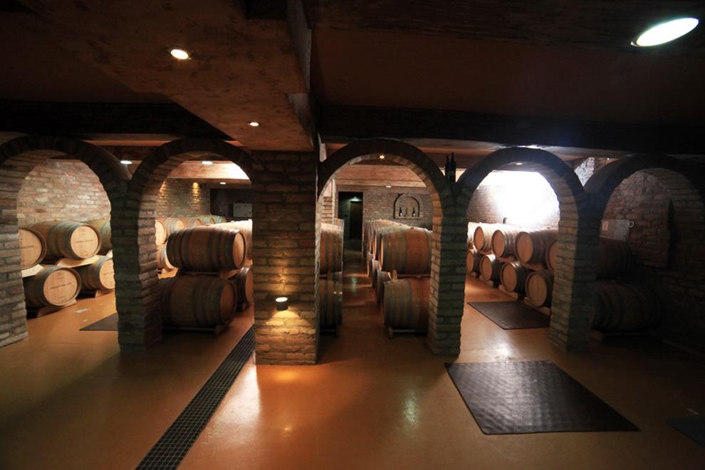 odležavanje vina vista hill vinarija