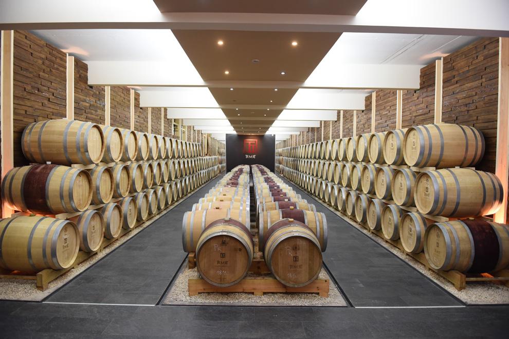 podrum vinarije temet odležavanje vina