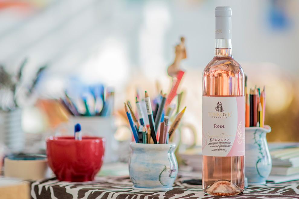 vinarija tonkovic rose vino kadarka