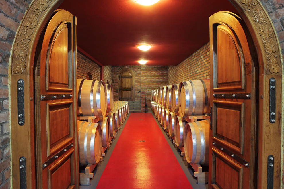 vinarija vinis odležavanje vina