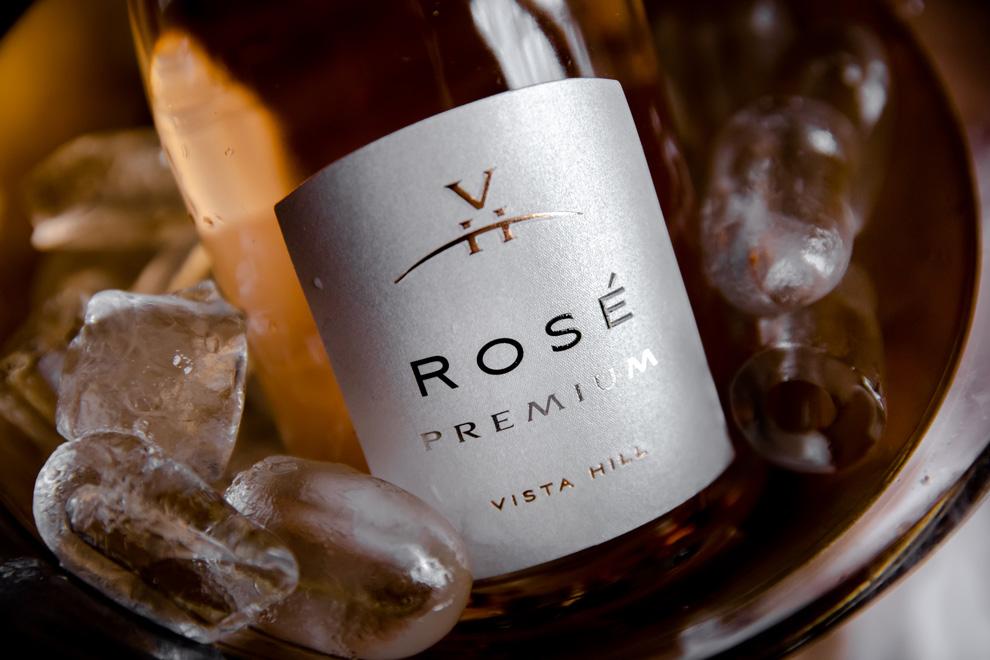 vista hill rose premium vino