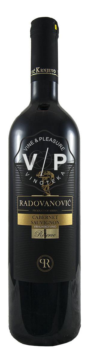 Radovanović Cabernet Sauvignon Reserve
