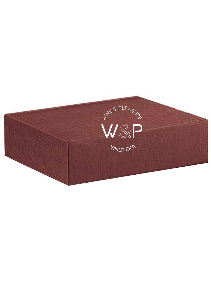 Kutija Kartonska Za 3 Boce Bordo-4169