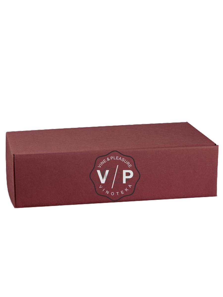 Kutija Kartonska Za 2 Boce Bordo-30581