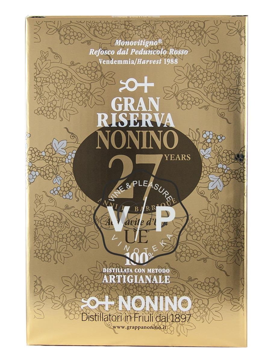 Grappa Riserva Nonino 27 Years Old