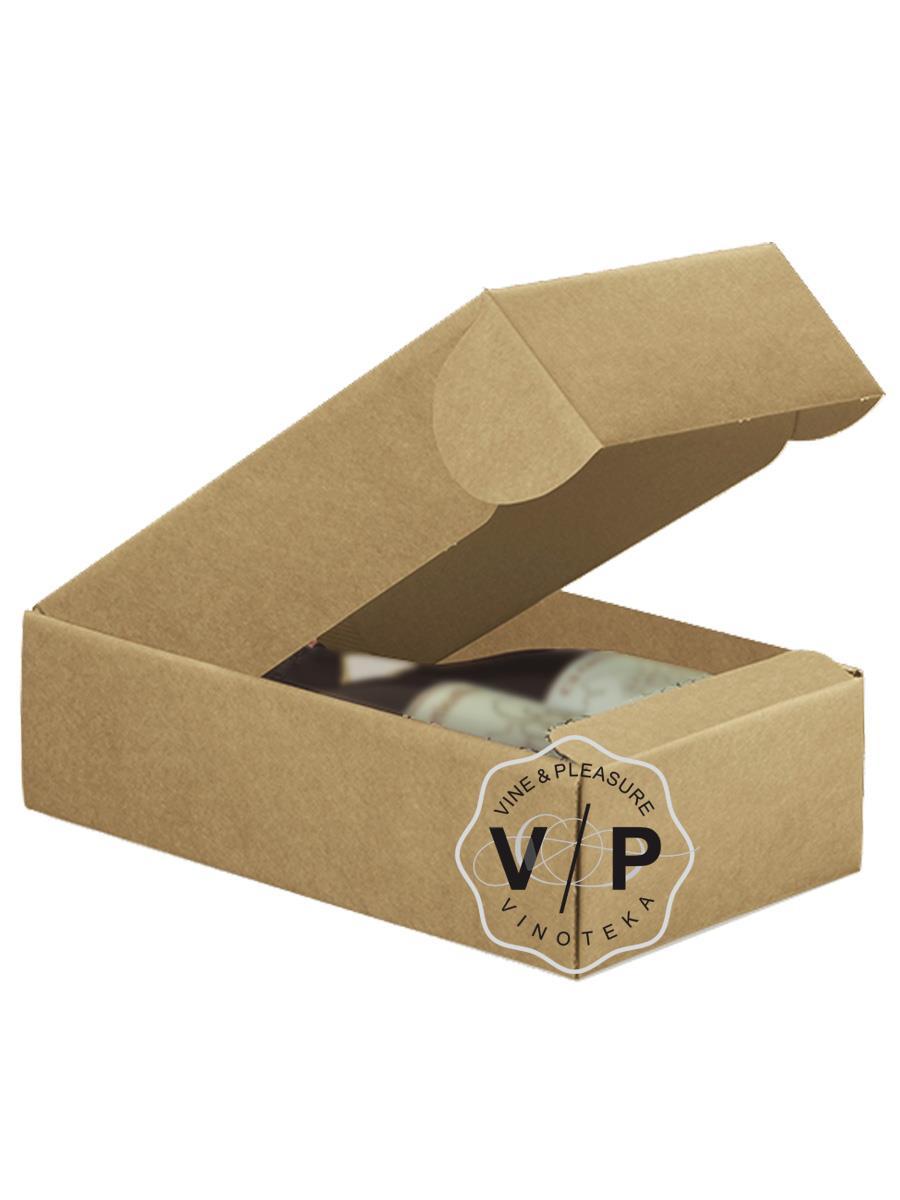 Kutija Kartonska Za 2 Boce Natur