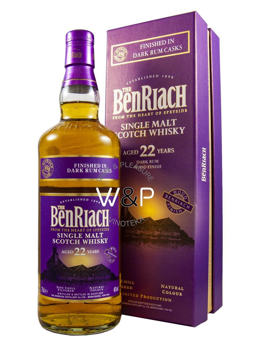 Whisky BenRiach 22 YO 0.7L