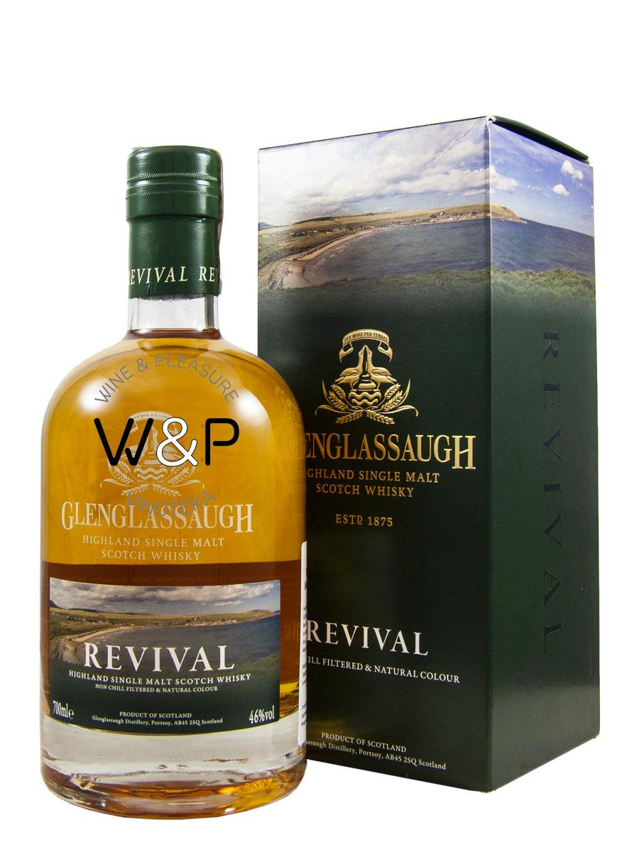 Whisky Glenglassaugh Revival 0.7L