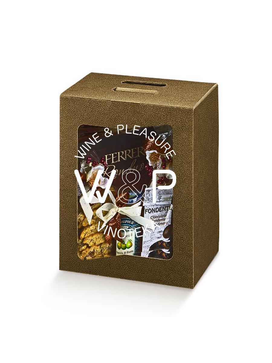 Kutija Kartonska Braon Kroko - prozor