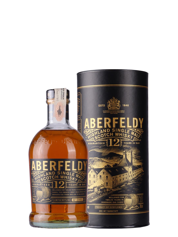 Whisky Aberfeldy 12 YO 0,7l
