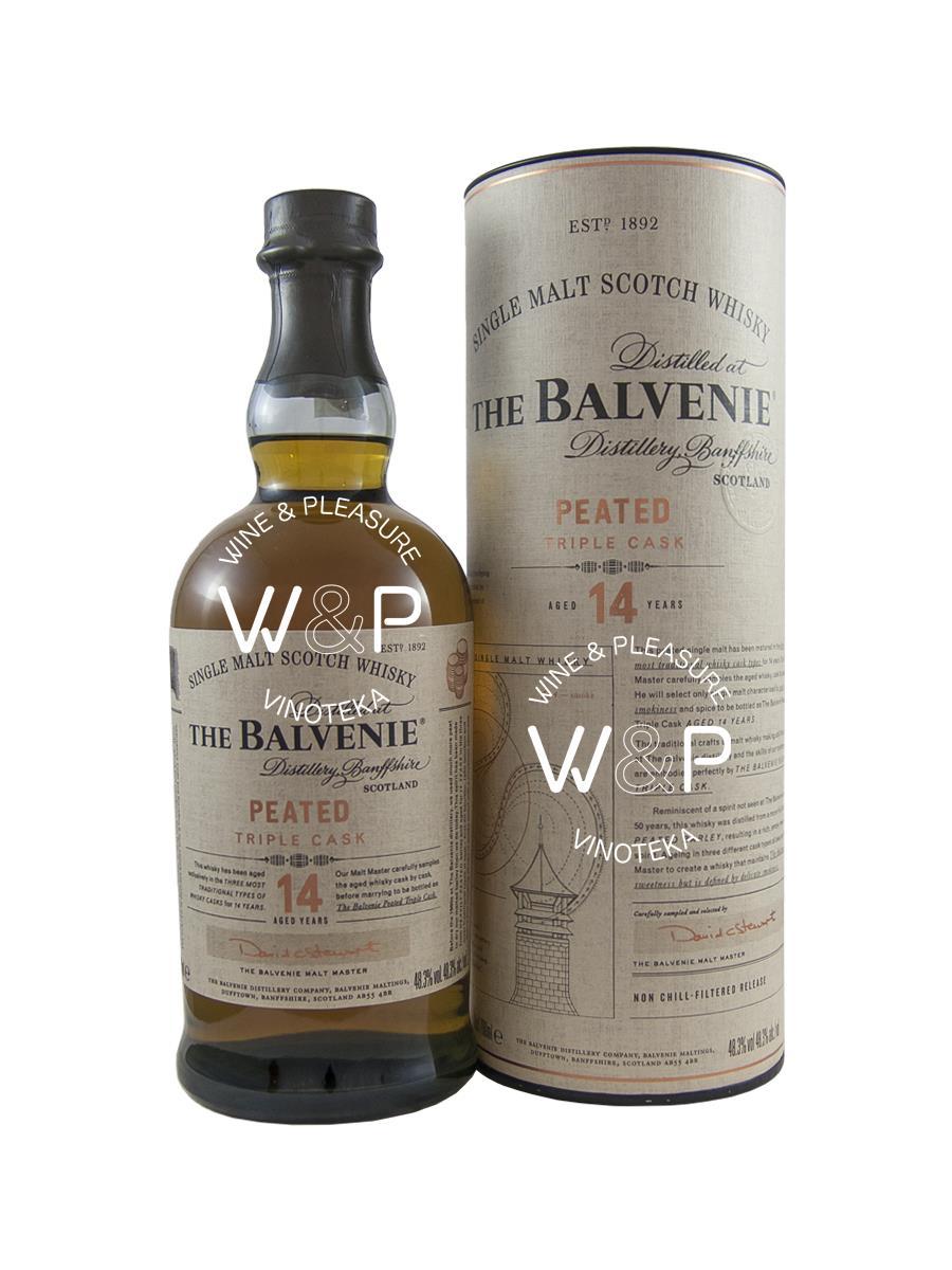 Whisky Balvenie 14 YO Triple Cask 0,7l