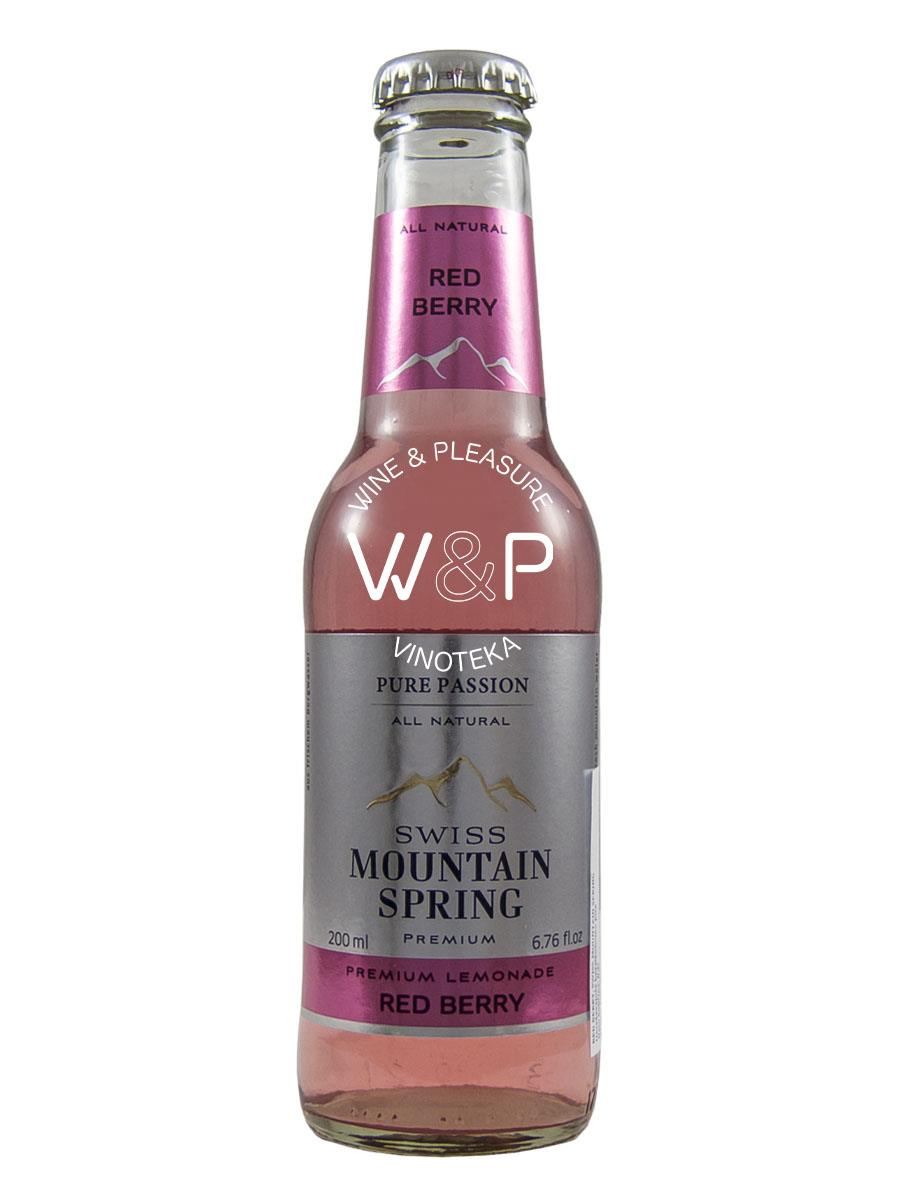 Tonic Mountain Spring Red Berry 0,2l