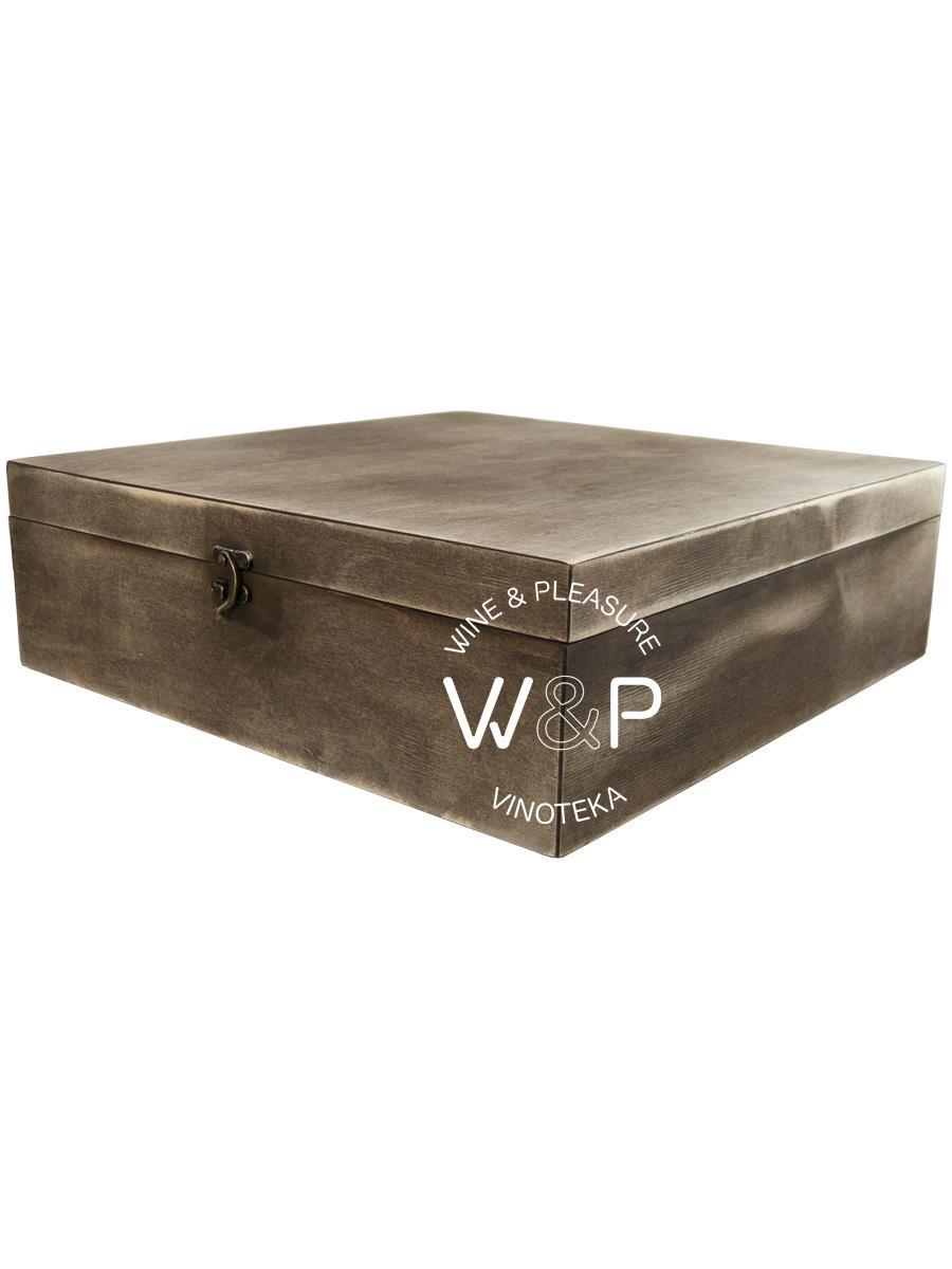 Drvena Kutija Za 4 Boce Braon