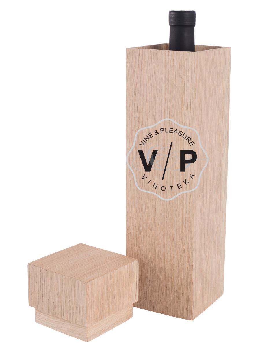 Drvena Kutija 1 Boca Cuboid