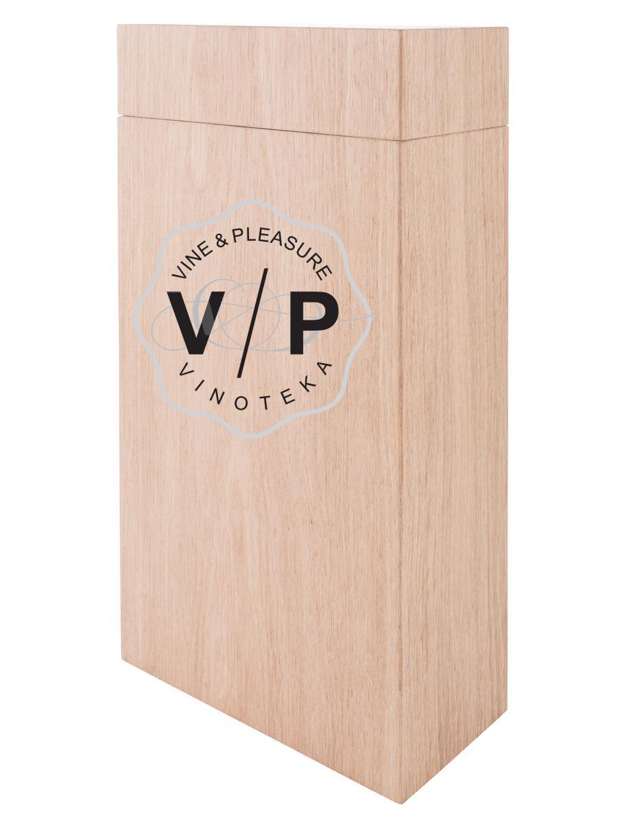 Drvena Kutija Cuboid 2 Boce
