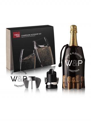 Vacuvin Poklon set za šampanjac - 38899606