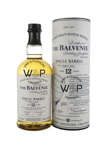 Whisky Balvenie 12Y First Fill 0,7l