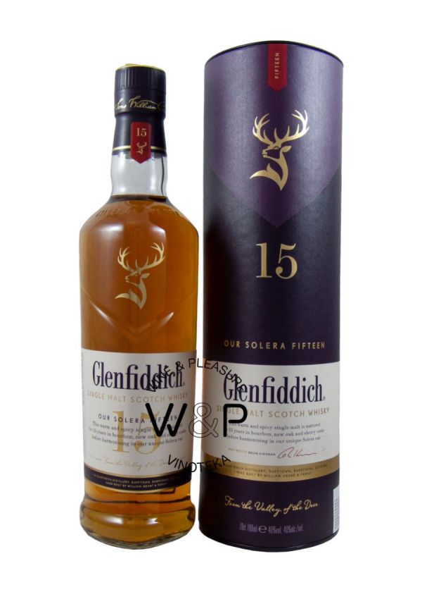 Whisky Glenfiddich 15 Years Old 0.7L