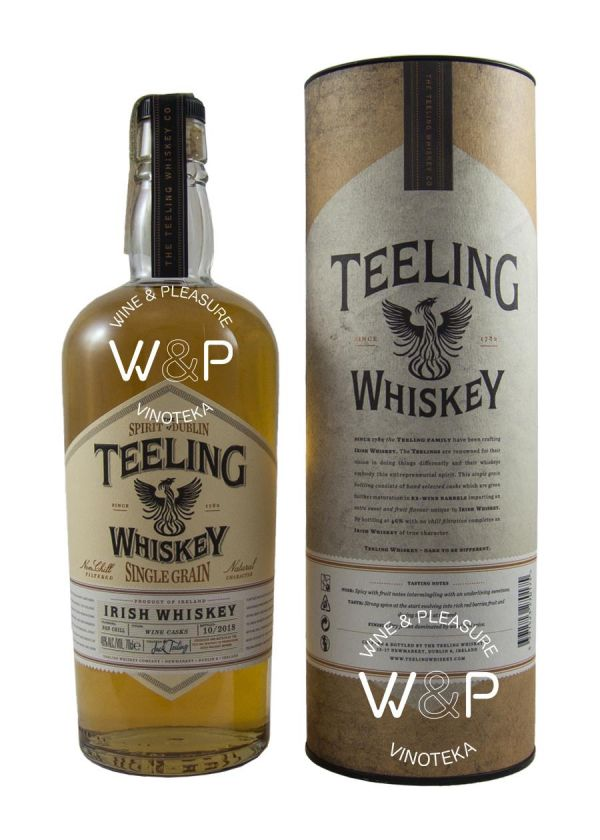 Whisky Teeling Single Grain 0,7l
