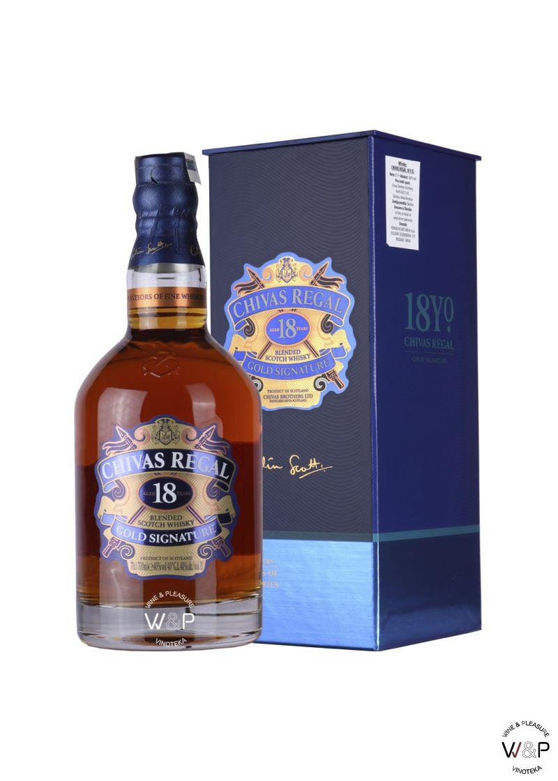 Whisky Chivas Regal 18 Years Old 0.7L