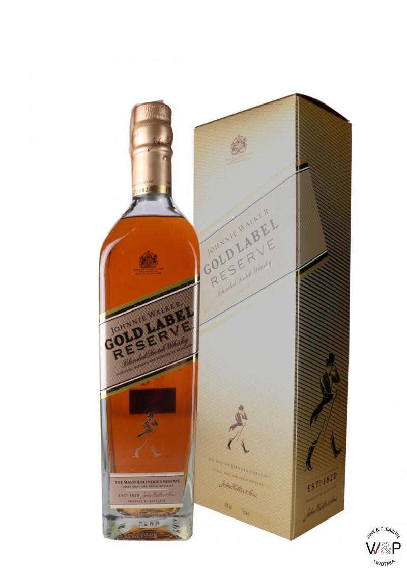 Whisky Johnnie Walker Gold Label Reserve 0.7L