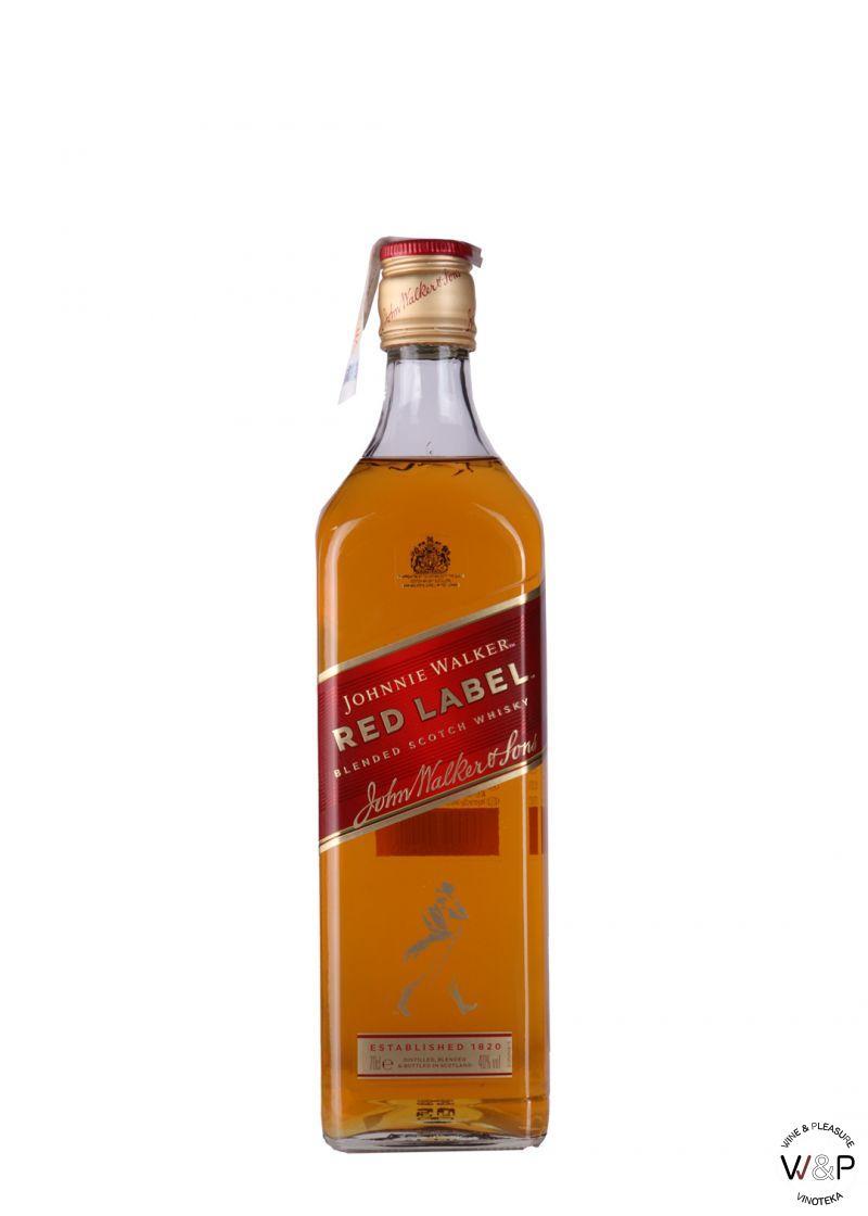 Whisky Johnnie Walker Red Label 0.7L