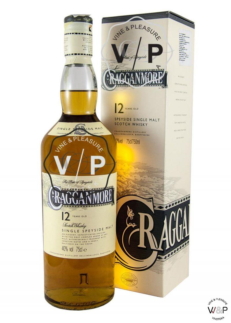 Whisky Cragganmore 12 Years Old 0.7L