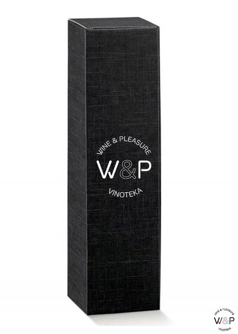Kutija Kartonska Za 1 Bocu Crna-17111