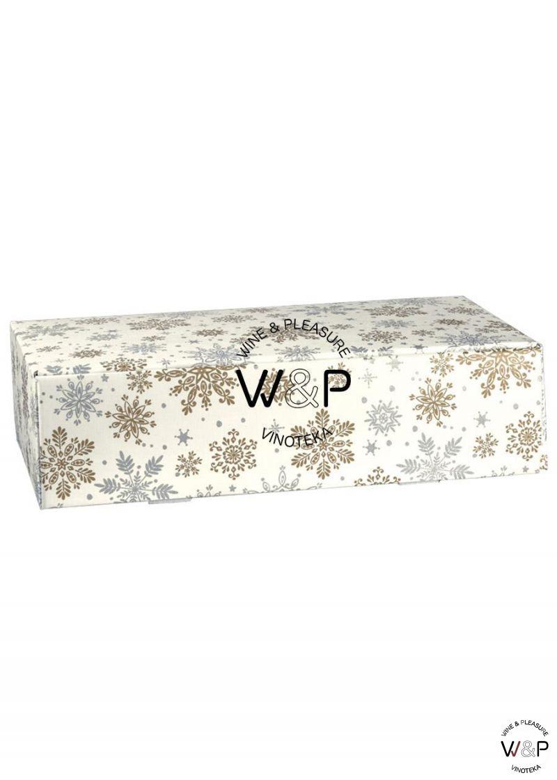 Kutija Kartonska Za 2 Boce Zvezdice-38211