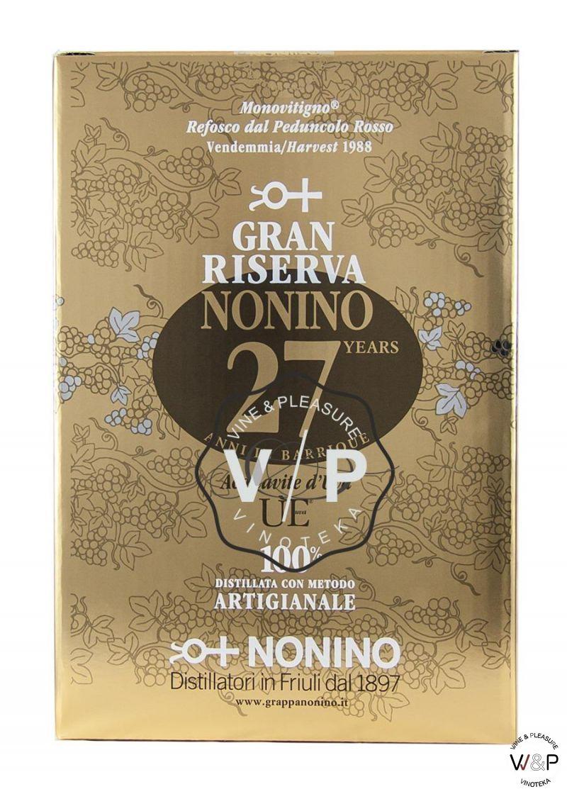 Grappa Riserva Nonino 27 Years Old