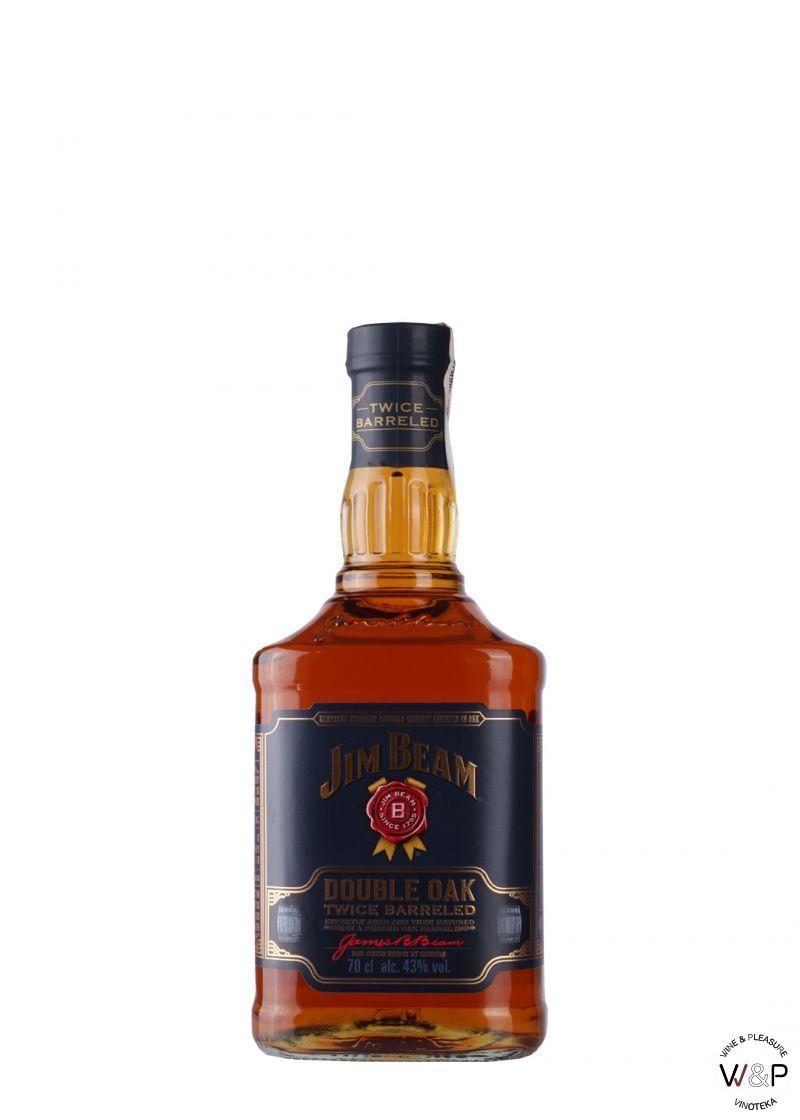 Bourbon Jim Beam Double Oak 0.75L