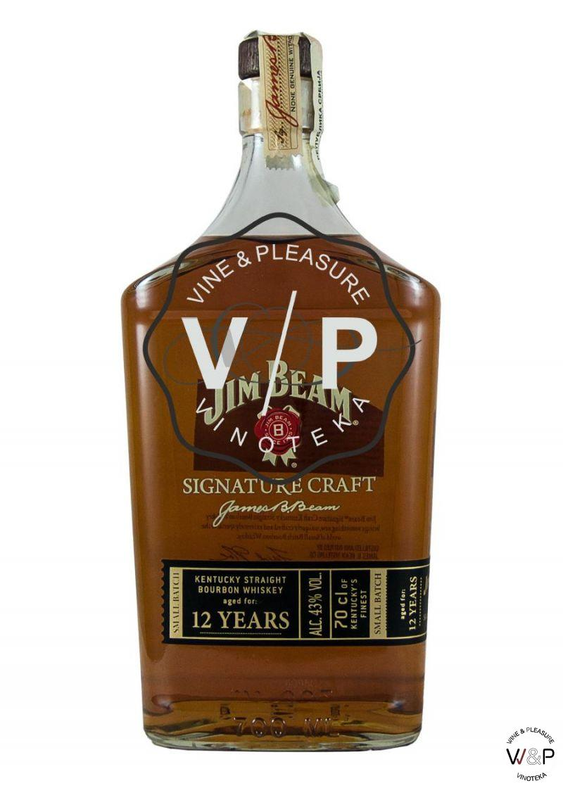 Bourbon Jim Beam Signature Craft 12 YO 0.7L