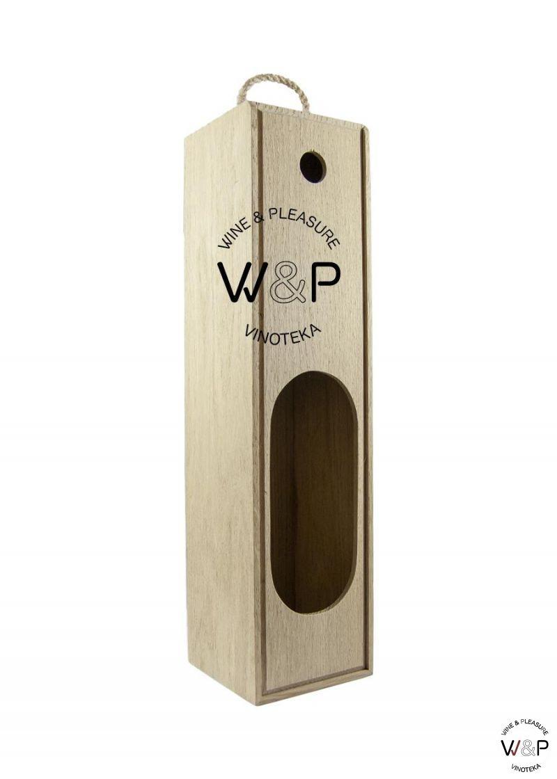 Drvena Kutija za 1 Bocu