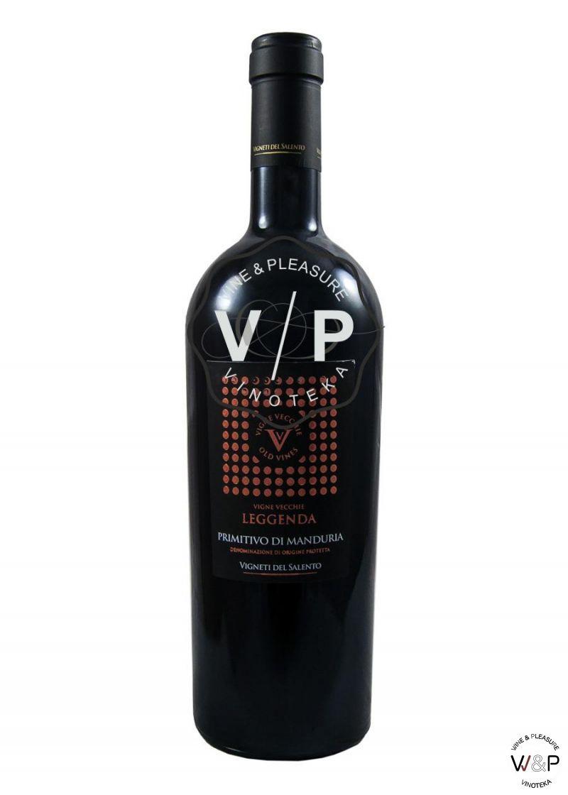 Del Salento Vigne Vecchie Primitivo Di Manduria