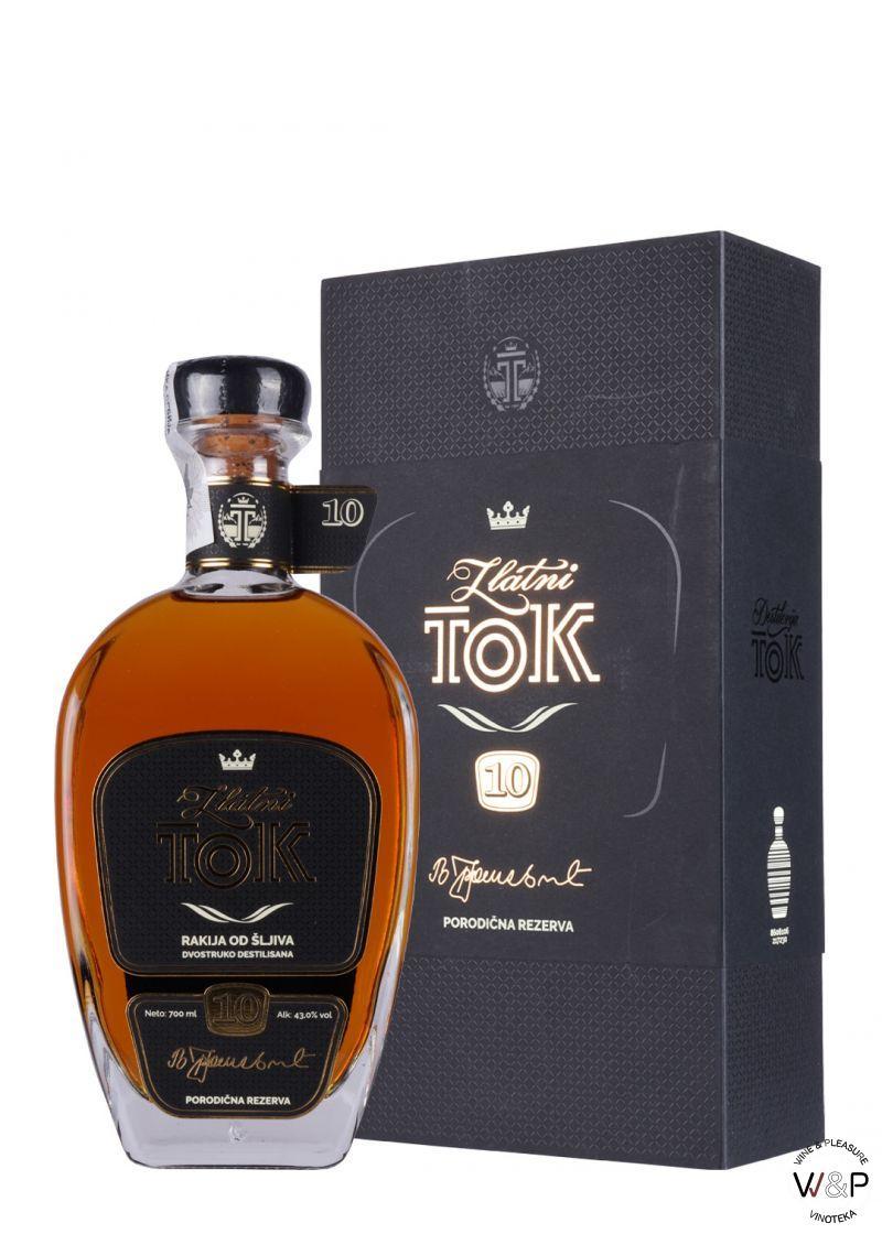 Tok Zlatni 10 Šljiva Gift Box 0.7L