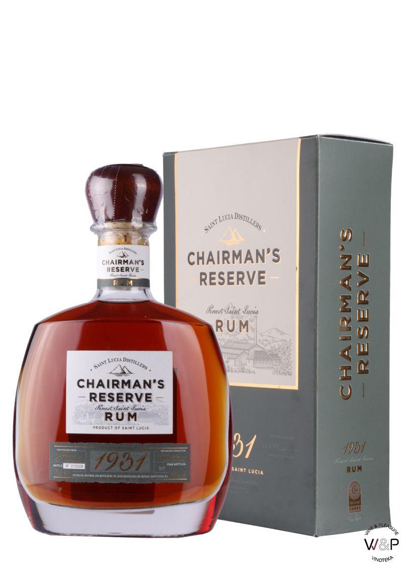 Rum Chairman's Reserve 1931 0.7L