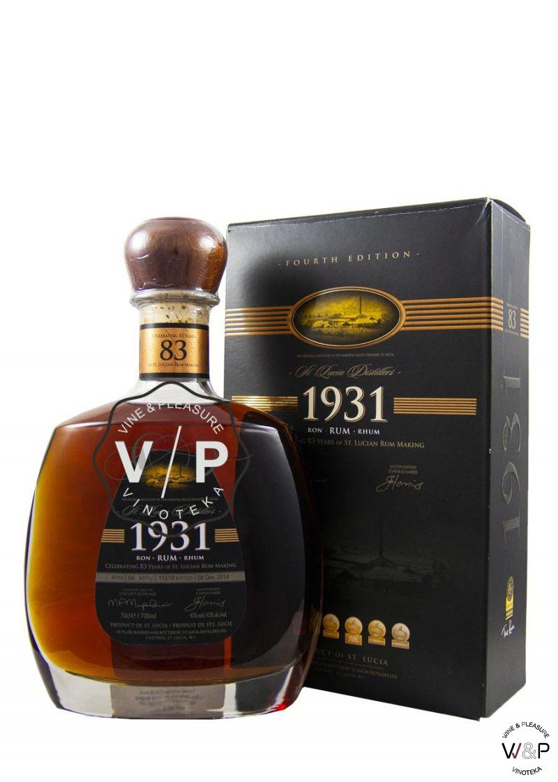 Rum St. Lucia 1931 4th Edition 0.7L