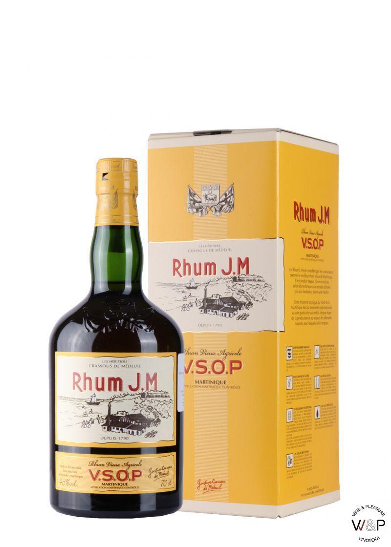 Rum J.M. Vieux V.S.O.P. 0.7L