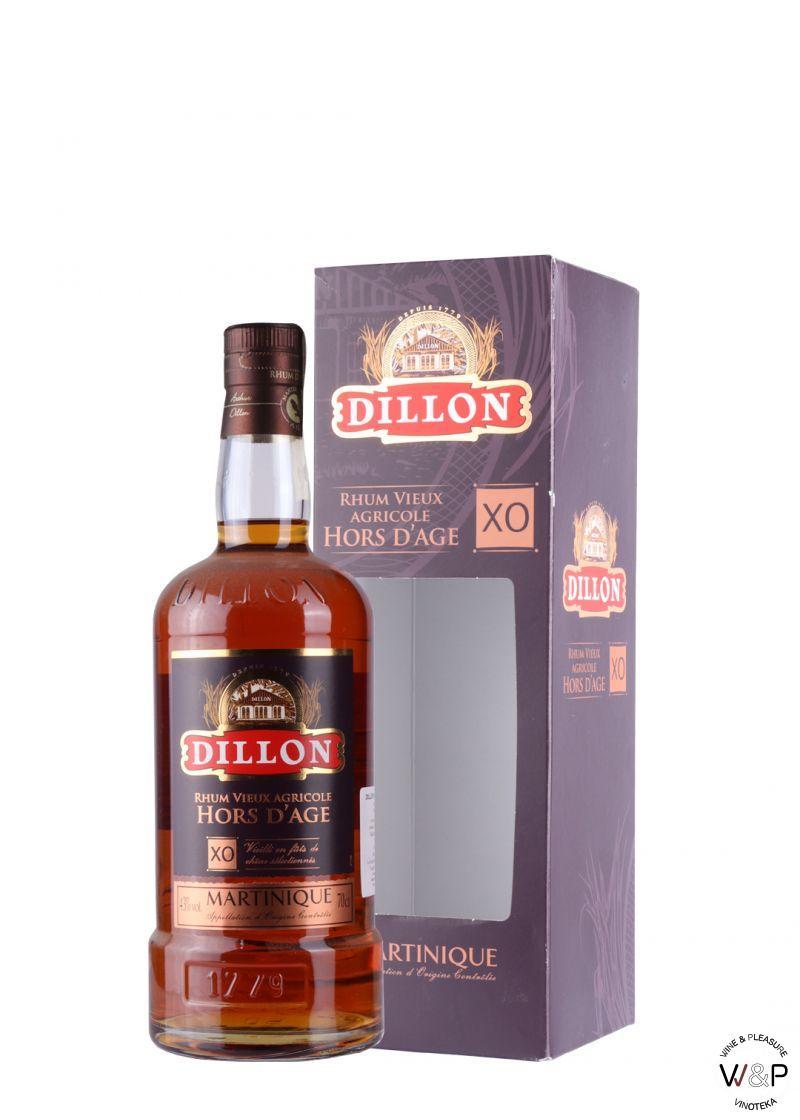 Rum Dillon Hors D'Age X.O. 0.7L