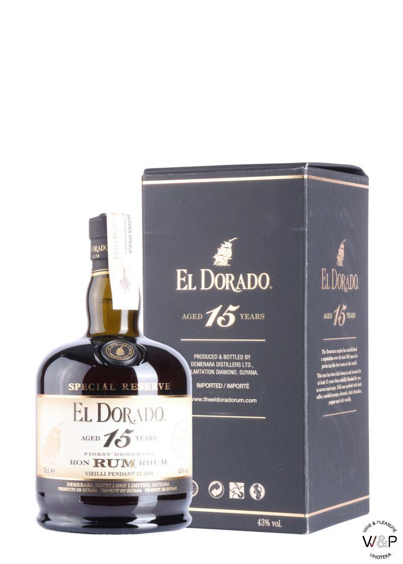 Rum El Dorado 15 YO 0.7L