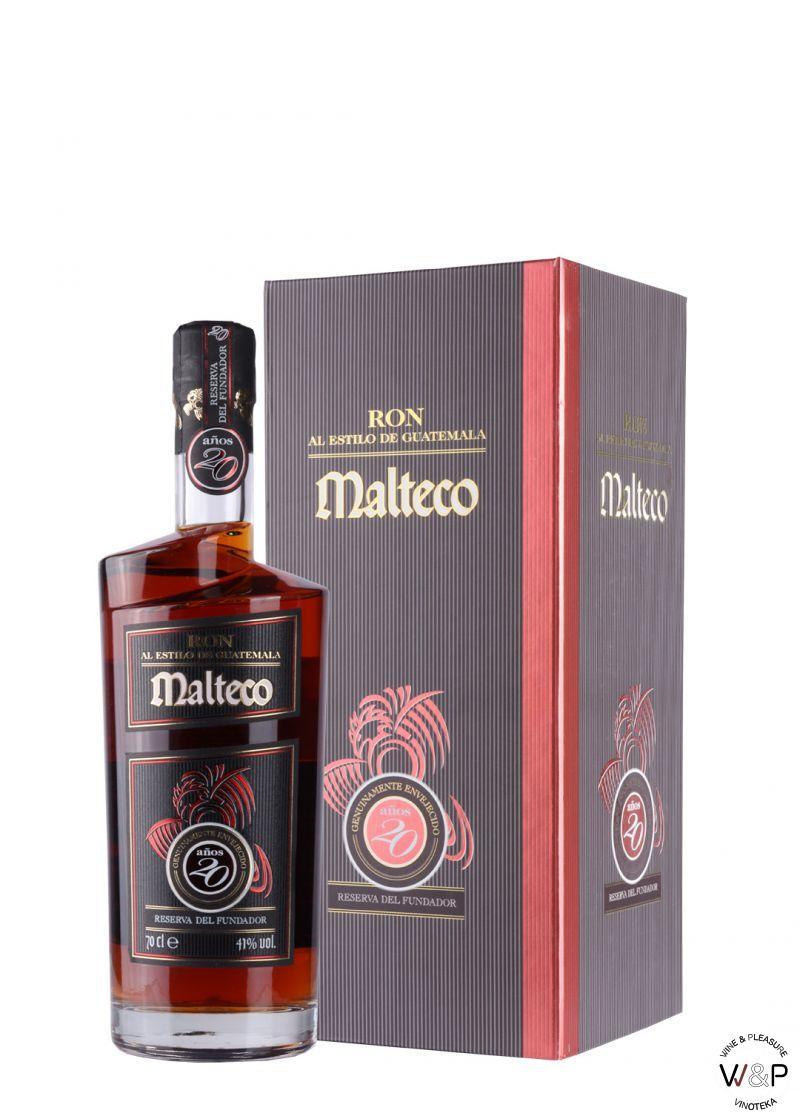 Rum Ron Malteco 20 YO 0.7L