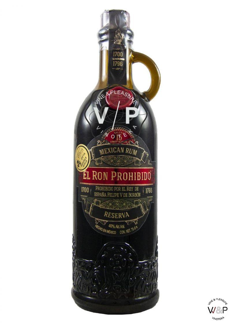 Rum El Prohibido Habanero 15 YO 0.7L
