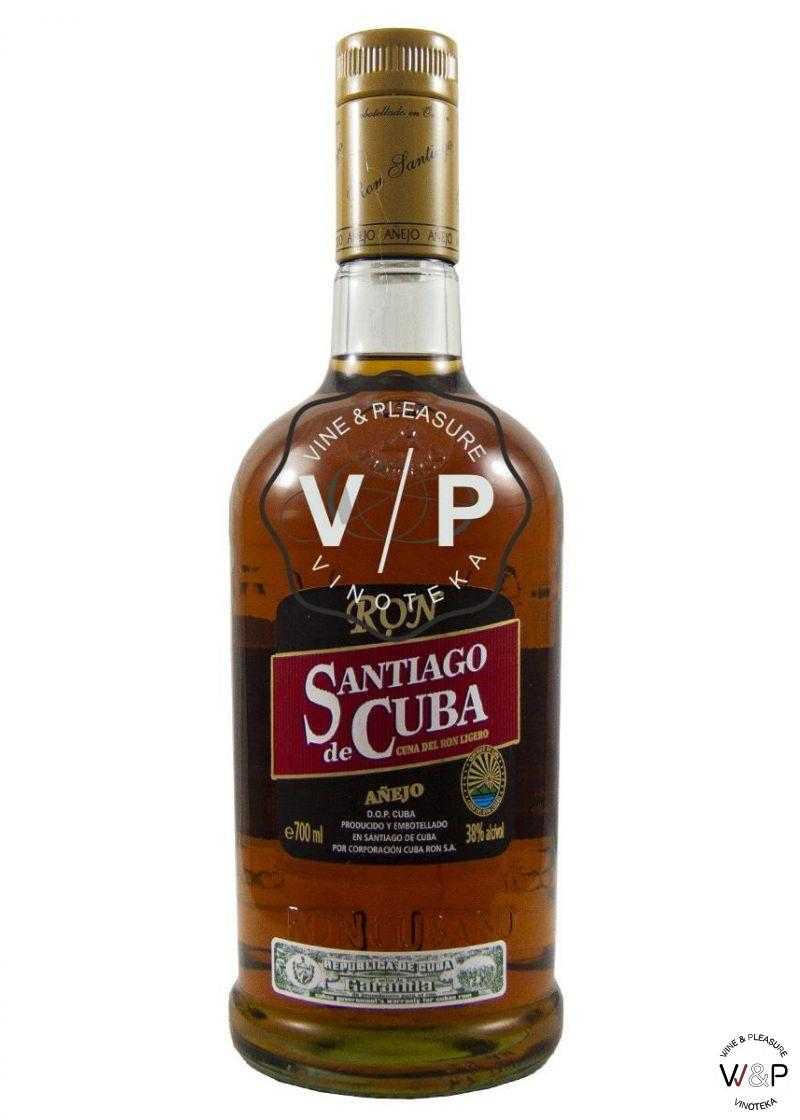 Rum Santiago De Cuba Ron Anejo 0.7L