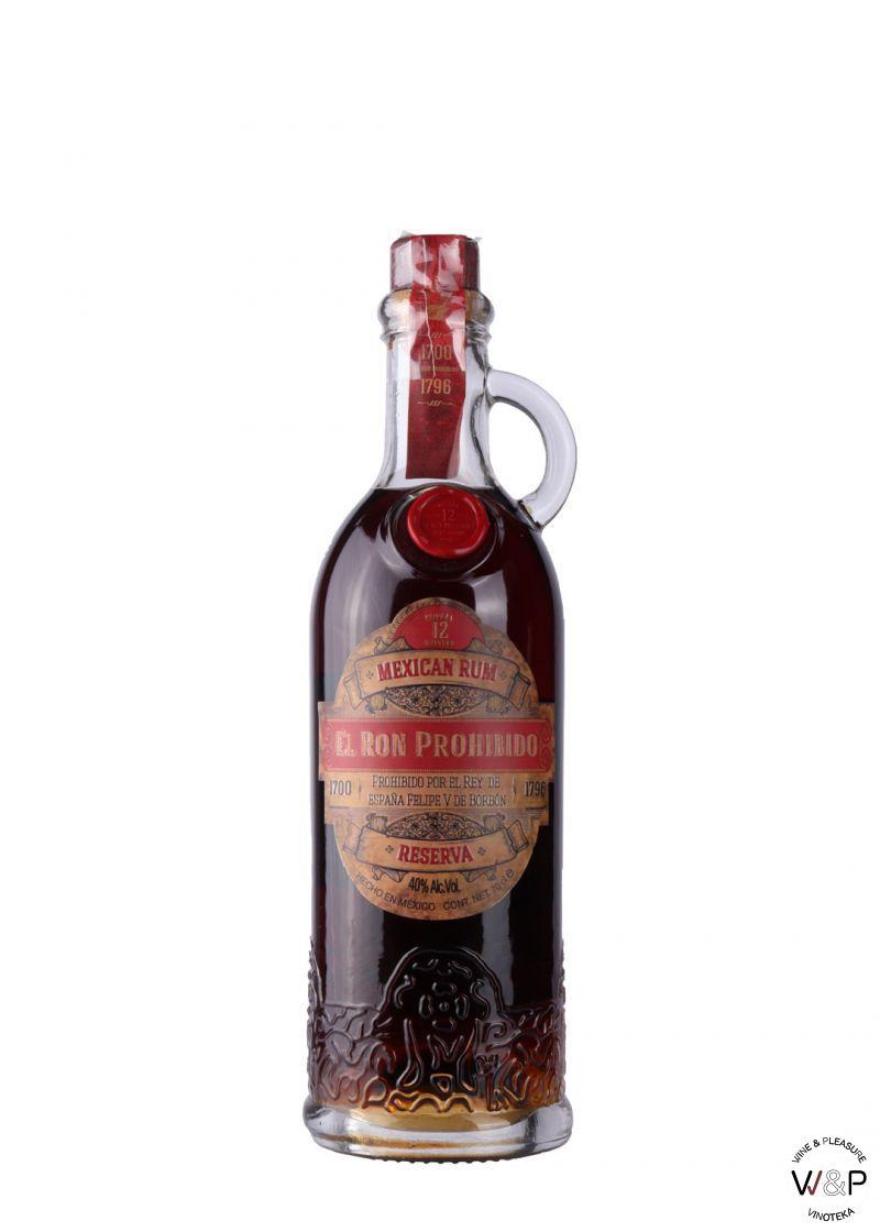Rum El Ron Prohibido 12 YO 0.7L