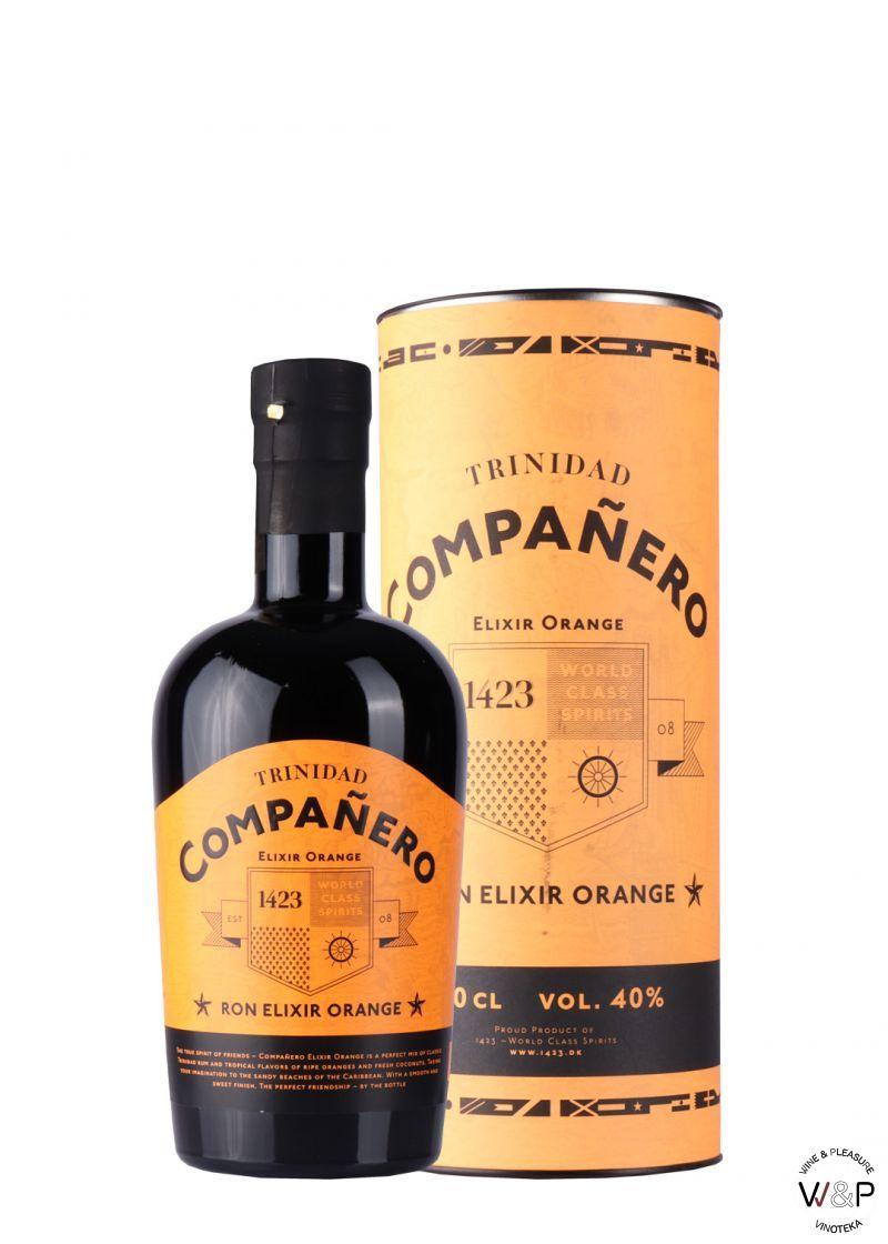 Rum Companero Elixir Orange 0.7L