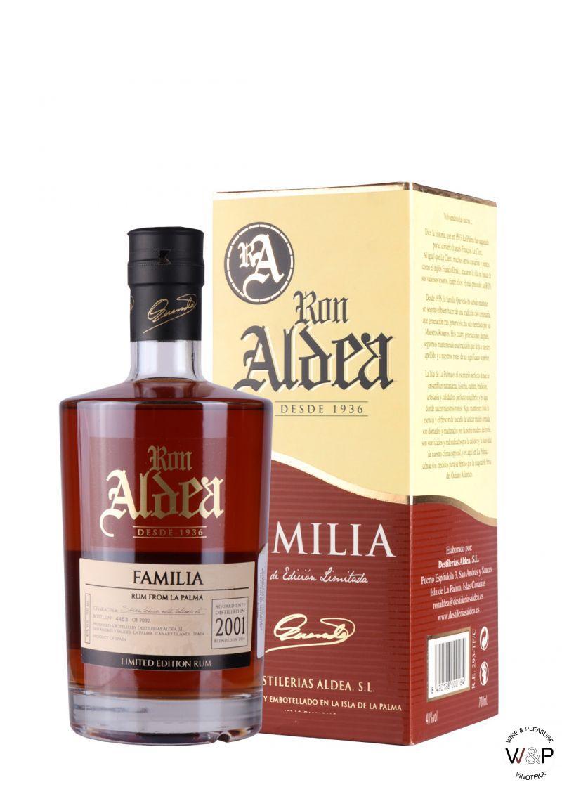 Rum Ron Aldea Familia 0.7L