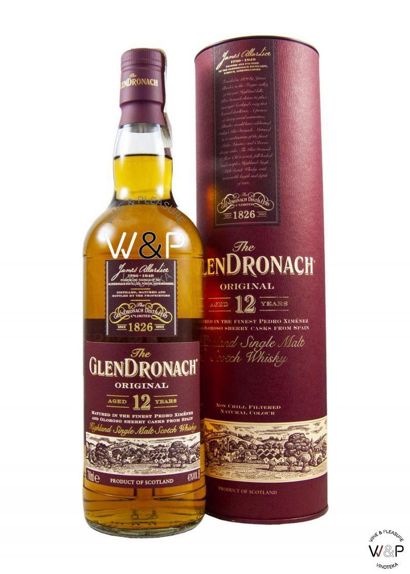 Whisky GlenDronach 12 YO 0.7L
